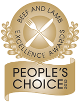 NZ Beef & Lamb Hallmark of Excellence Awards - Pepople's Choice 2012
